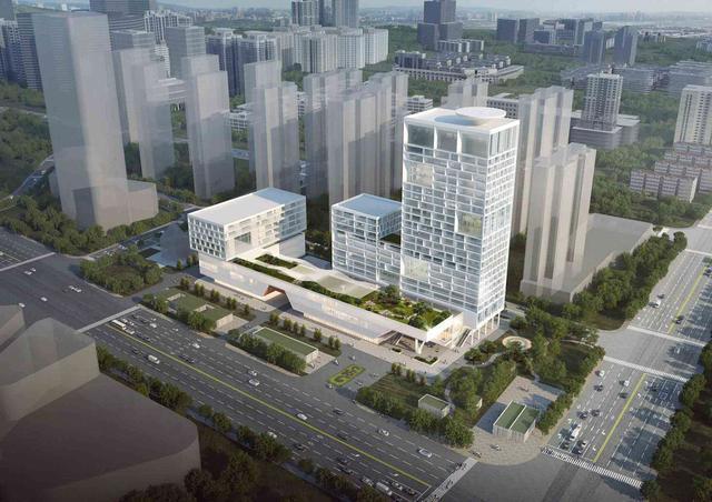 滨江商务区还有一家综合医院!武昌区三大社会民生工程开工建设 第1张