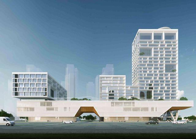 滨江商务区还有一家综合医院!武昌区三大社会民生工程开工建设 第2张