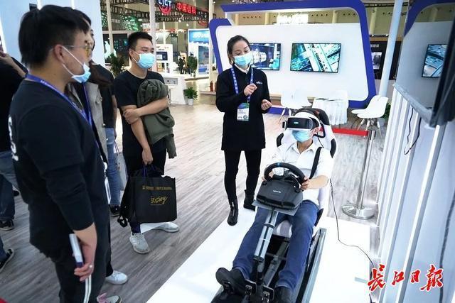 """虚拟购物在手机进入地铁站""""毫无意义""""的交通武汉电气博览会""""智能生活""""加速 第1张"""