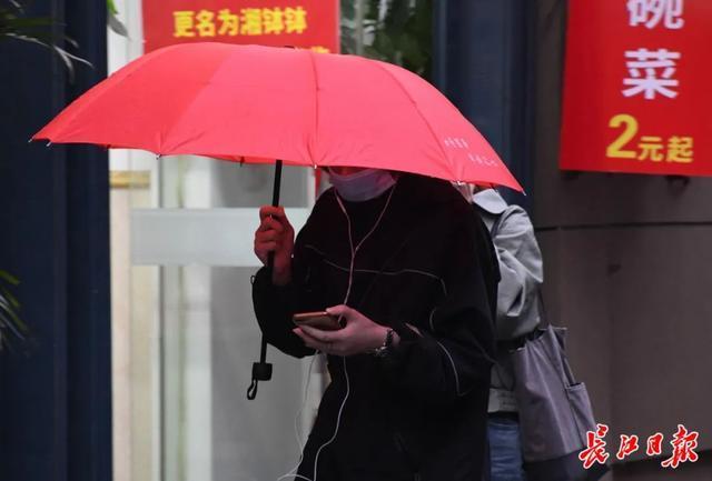 天气 周末有小雨,市民出门记得带伞 第2张
