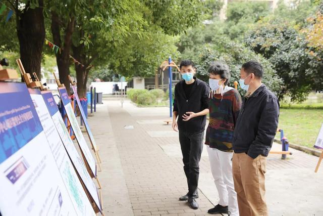 规划进社区,携手绘制蓝图,武汉规划展览馆进入金港社区 第1张