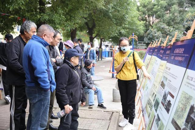 规划进社区,携手绘制蓝图,武汉规划展览馆进入金港社区 第2张