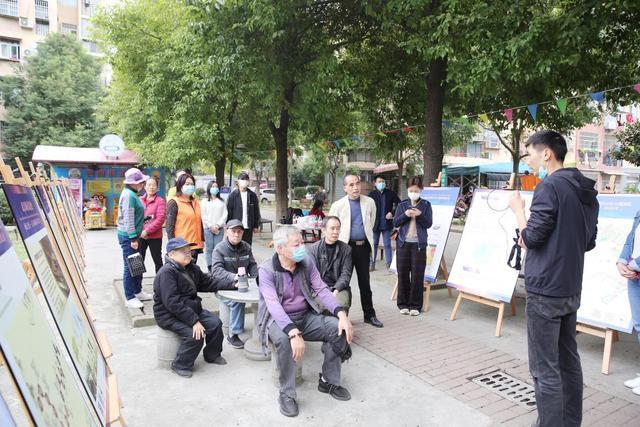 规划进社区,携手绘制蓝图,武汉规划展览馆进入金港社区 第5张