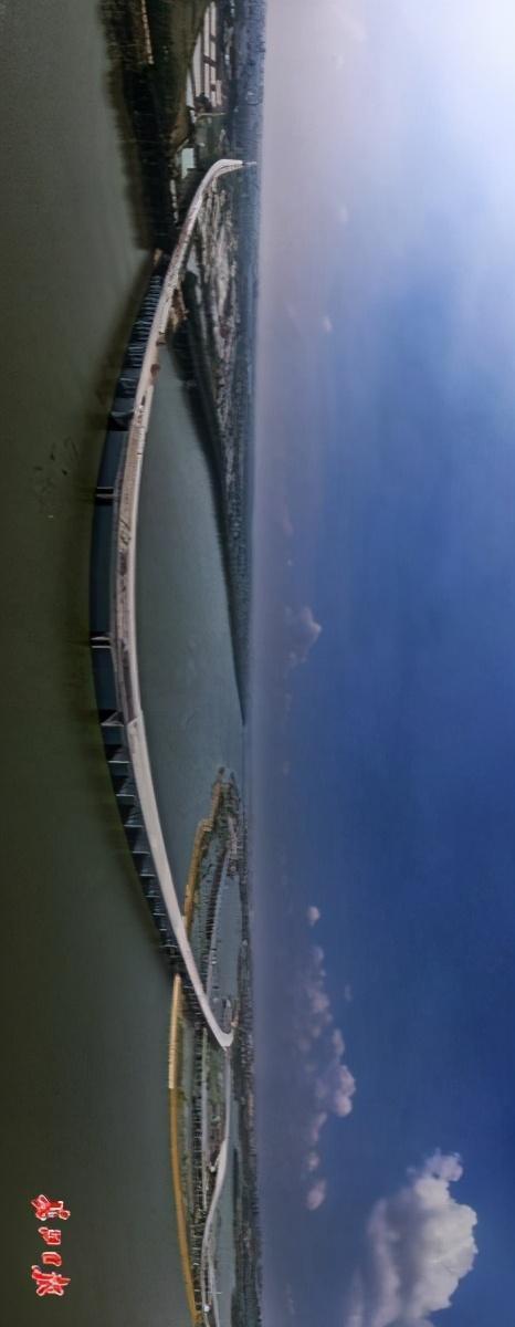"""武汉四环即将""""画圈""""。看四环跨江湖桥图集。 第2张"""