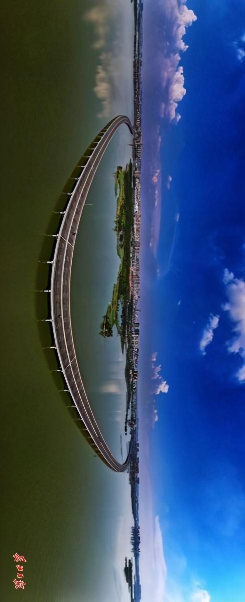"""武汉四环即将""""画圈""""。看四环跨江湖桥图集。 第1张"""