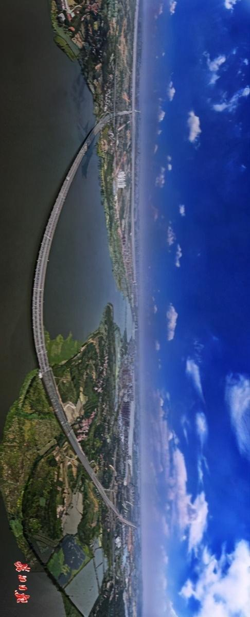 """武汉四环即将""""画圈""""。看四环跨江湖桥图集。 第5张"""