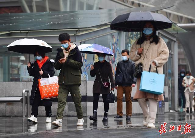 接下来的三天,还是会阴雨连绵,武汉正在过冬。 第2张