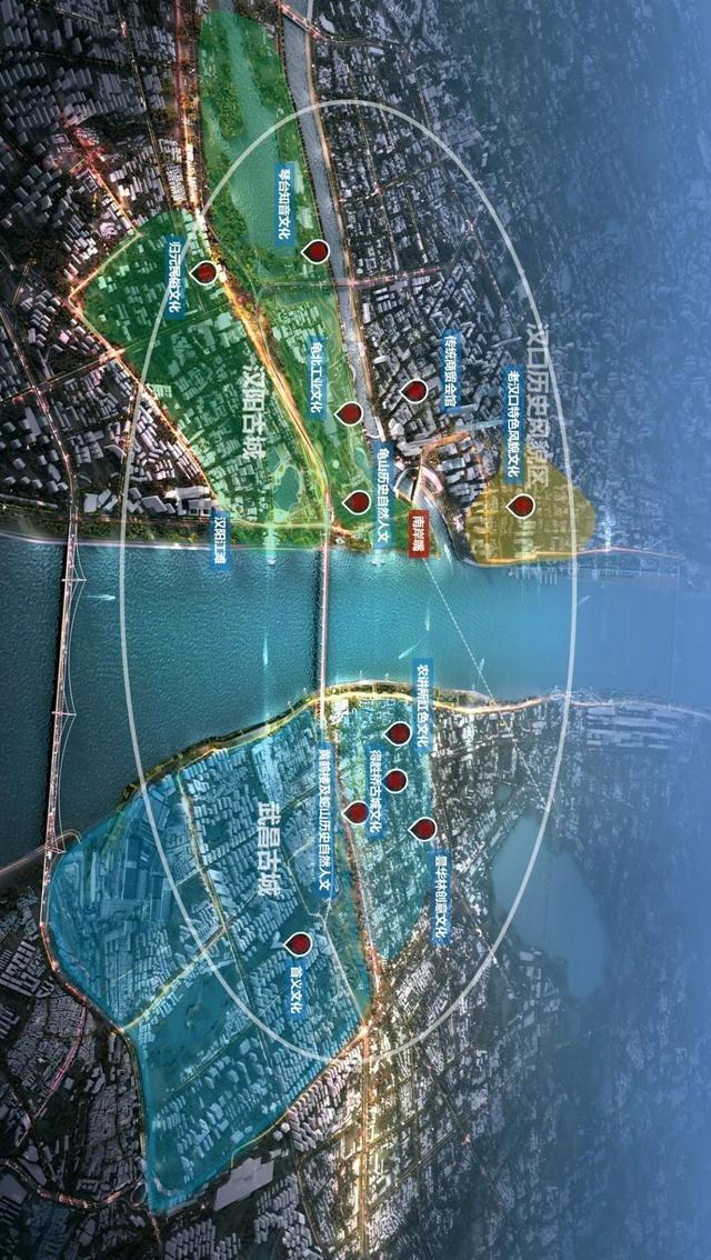 打造世界级滨水城市!武汉两江四岸规划发布。 第4张