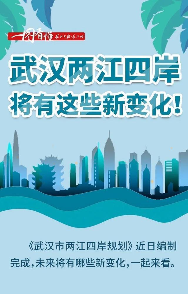 打造世界级滨水城市!武汉两江四岸规划发布。 第7张