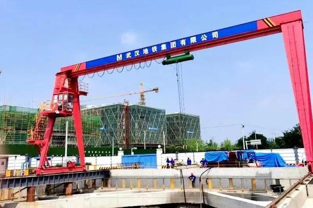 武汉地铁19号线首站主体结构穿越光谷完成。 第3张