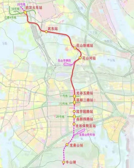 武汉地铁19号线首站主体结构穿越光谷完成。 第4张