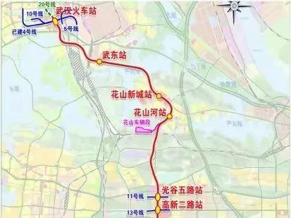 武汉地铁19号线首站主体结构穿越光谷完成。 第2张