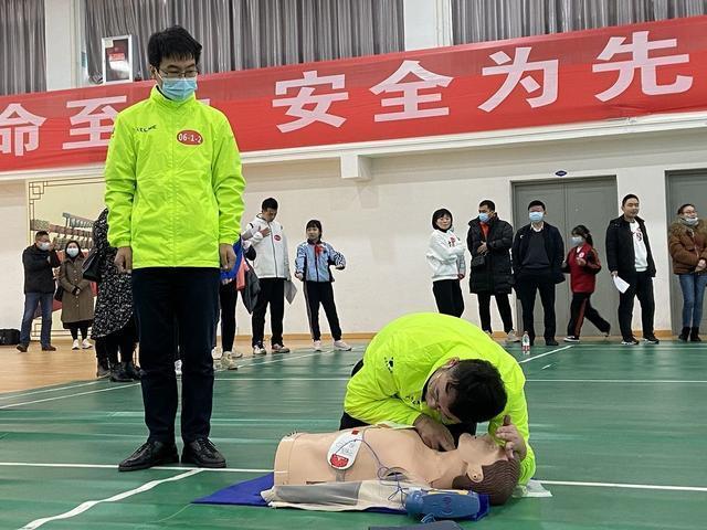 """武汉举办""""师生急救技能""""大赛,确定急救专家。 第3张"""
