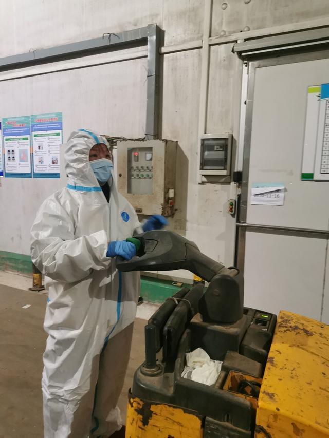 参观进口冷链食品监督检验现场:每种食品的所有最小单位都经过核酸检测。 第4张