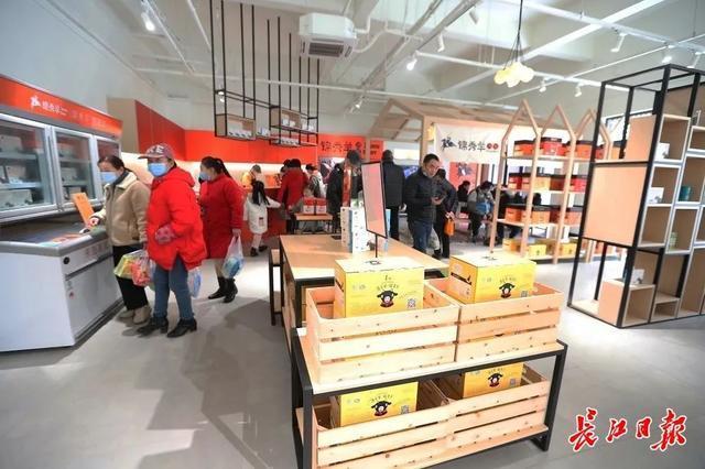 湖北土特产大浪潮来了!湖北馆在汉交易会上很受欢迎。 第5张