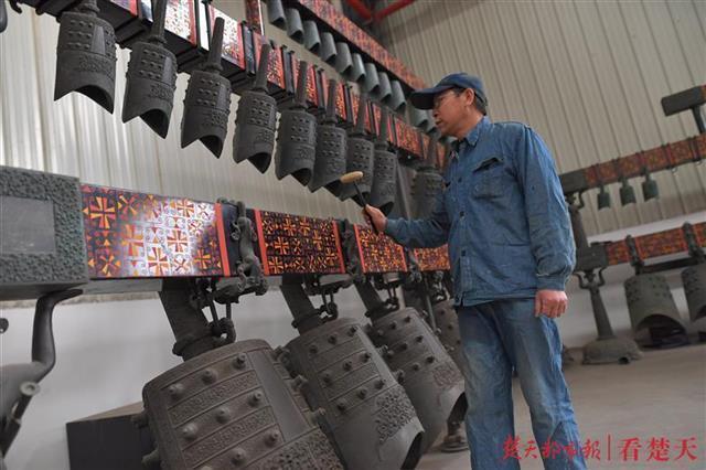中国百分之八十的钟都是江夏制造的!所有关于编钟的东西都在这里... 第4张