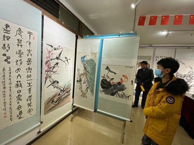 书画在花年被袭,书画展览在旧年举行。 第3张