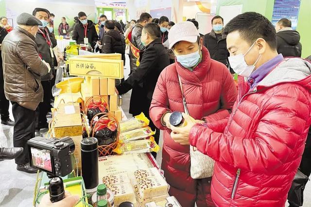 第29届食品博览会结束时,营业额超过60亿元,13万食客试图购买年货。 第3张