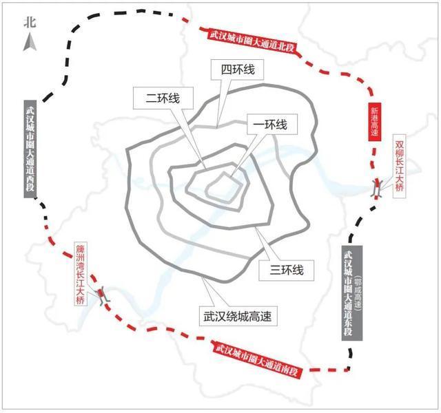 开放式施工!这条大通道连接着武汉城市圈。 第3张