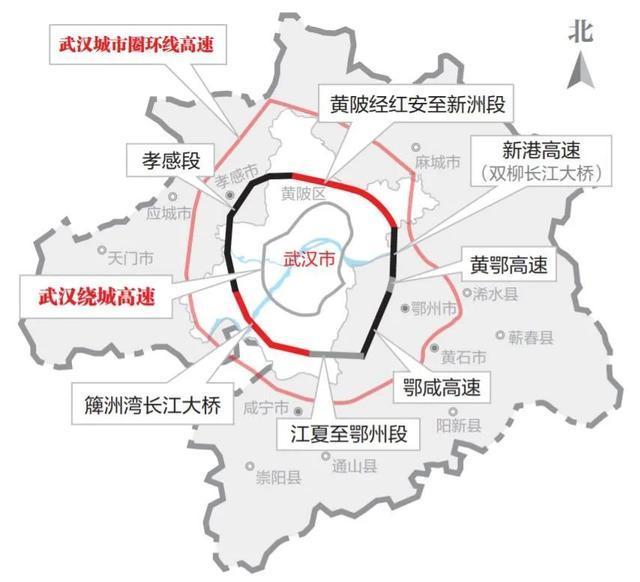 开放式施工!这条大通道连接着武汉城市圈。 第5张
