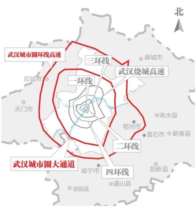 开放式施工!这条大通道连接着武汉城市圈。 第6张
