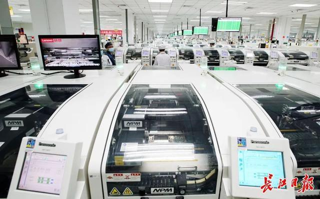 """武汉""""光芯屏网""""等万亿产业集群崛起,新兴工业园连成一线,形成""""山谷"""" 第5张"""