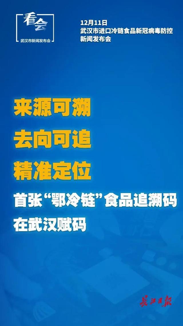 武汉发布:对3万多名冷链食品从业人员进行检测,未发现感染者。 第4张