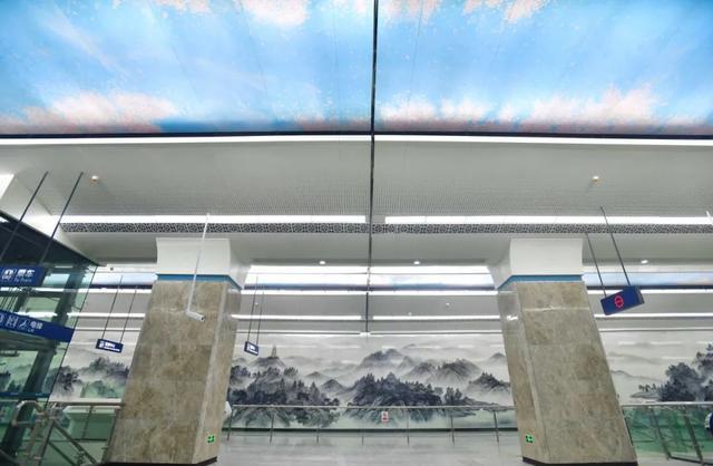 武汉十大最美地铁站第一站惊艳。 第3张