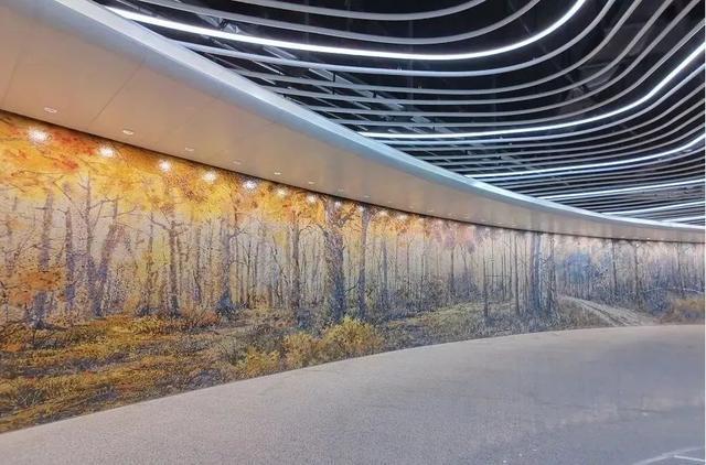 武汉十大最美地铁站第一站惊艳。 第6张