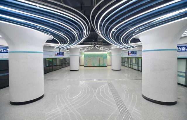 武汉十大最美地铁站第一站惊艳。 第7张