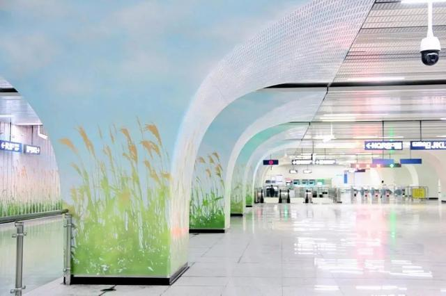武汉十大最美地铁站第一站惊艳。 第12张