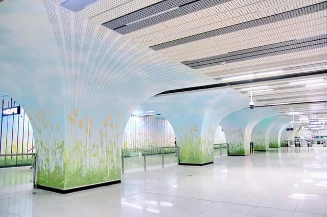 武汉十大最美地铁站第一站惊艳。 第11张