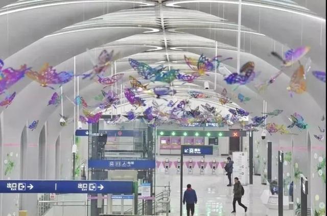 武汉十大最美地铁站第一站惊艳。 第18张