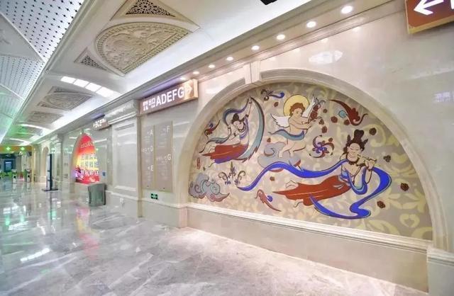 武汉十大最美地铁站第一站惊艳。 第17张