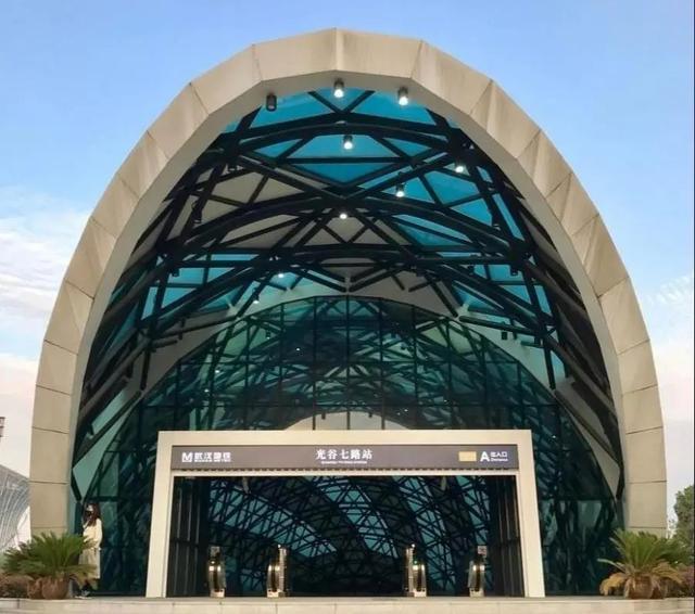 武汉十大最美地铁站第一站惊艳。 第22张