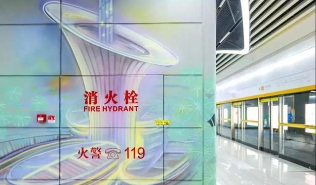 武汉十大最美地铁站第一站惊艳。 第24张