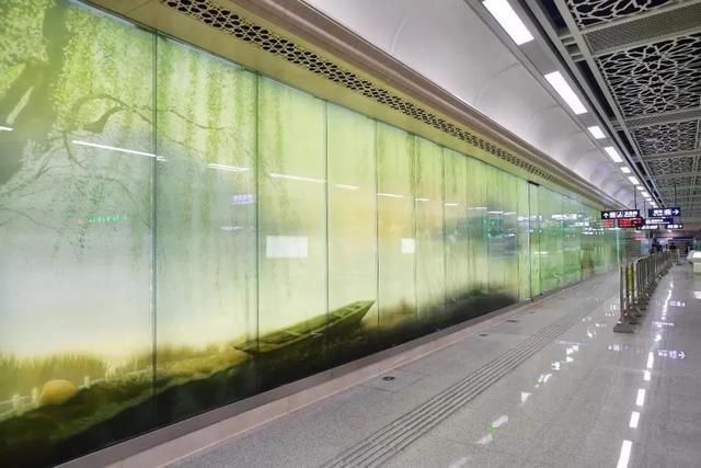 武汉十大最美地铁站第一站惊艳。 第26张