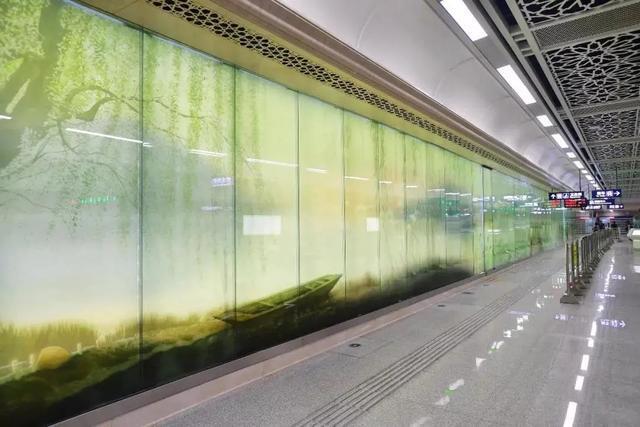 武汉十大最美地铁站第一站惊艳。 第25张