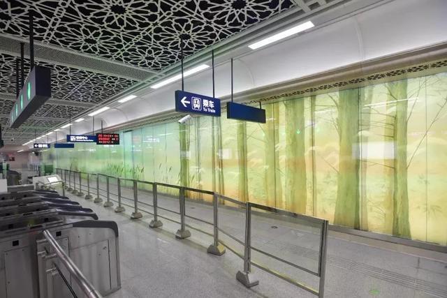 武汉十大最美地铁站第一站惊艳。 第27张