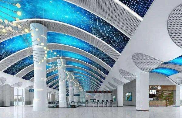 武汉十大最美地铁站第一站惊艳。 第30张