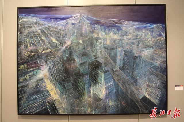 20世纪90年代后,画家们用3000张抗疫照片做了一幅画...湖北艺术界抗疫艺术作品展开幕。 第3张