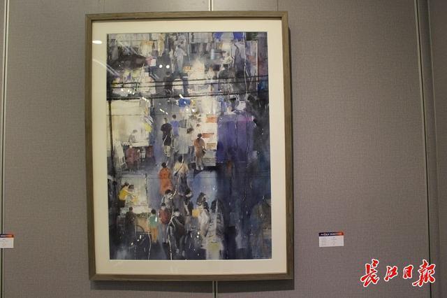 20世纪90年代后,画家们用3000张抗疫照片做了一幅画...湖北艺术界抗疫艺术作品展开幕。 第9张