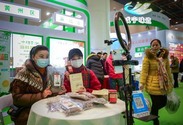 第17届中国武汉农博会昨日闭幕,三天内吸引近10万人购买年货。 第1张