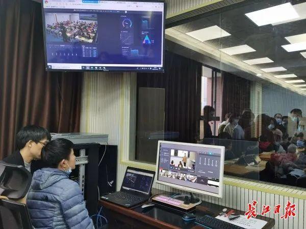 5G教育网垄断,学生漫画,武汉建设国家智能教育示范区有新的板眼。 第2张
