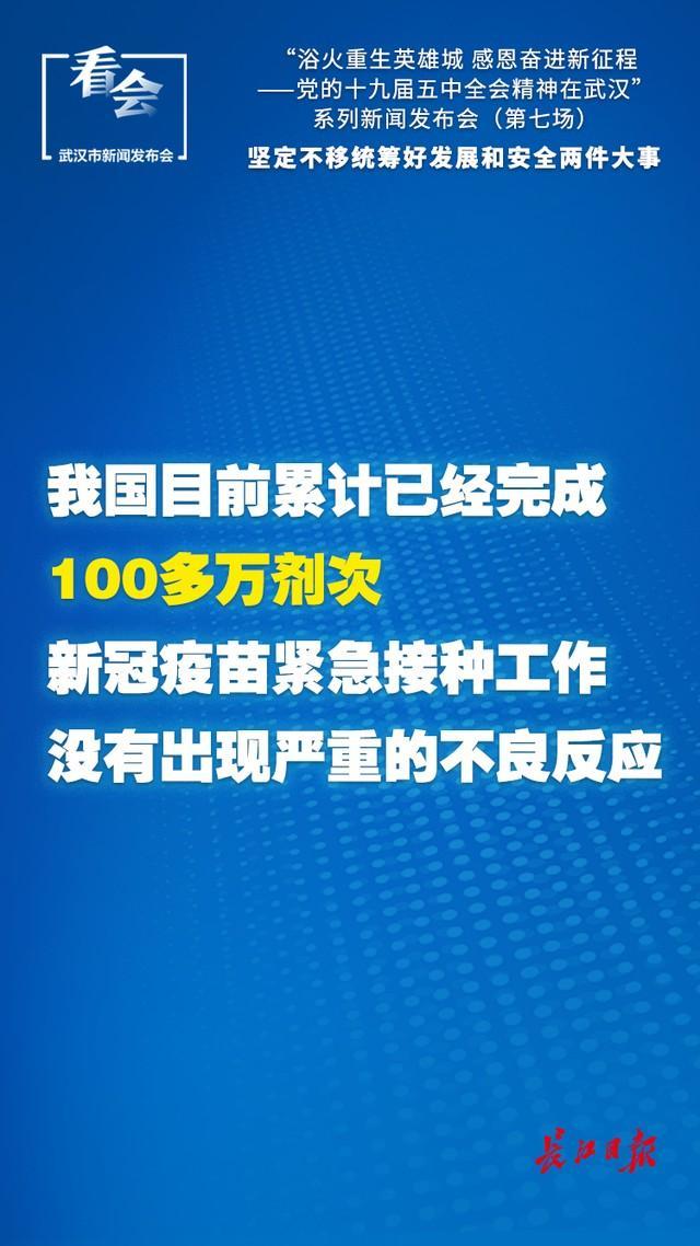 武汉开始了新冠疫苗的紧急接种。 第4张