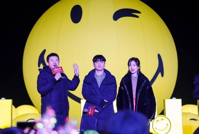 遇到浪漫的流星雨,在武汉欢乐谷LIGHTS游乐园元旦开幕。 第1张