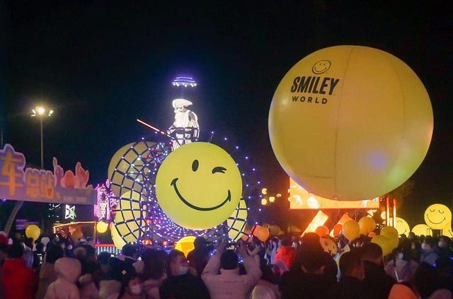 遇到浪漫的流星雨,在武汉欢乐谷LIGHTS游乐园元旦开幕。 第2张