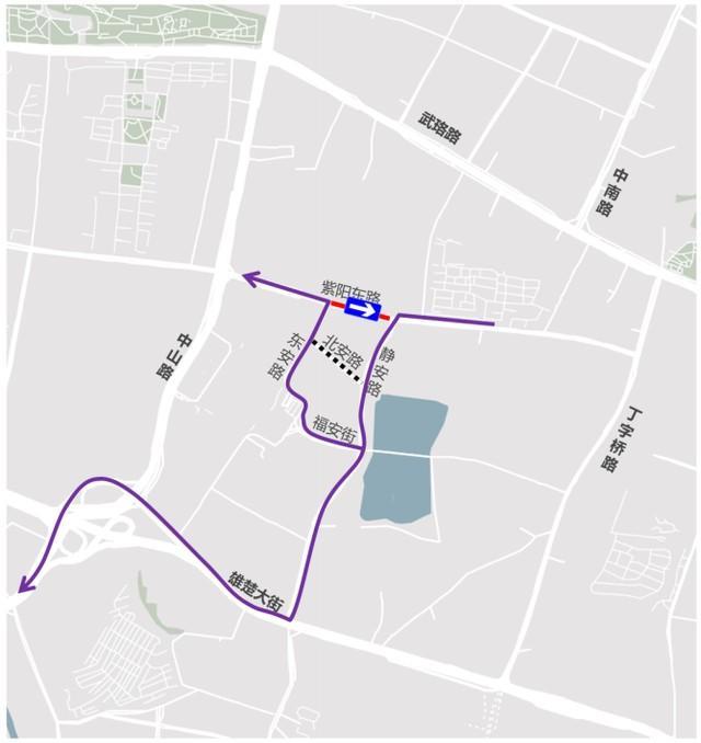 提醒!这三条路开始改建,施工的时候就这样绕了一圈。 第3张