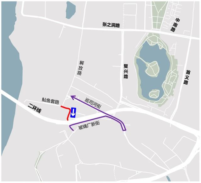 提醒!这三条路开始改建,施工的时候就这样绕了一圈。 第4张
