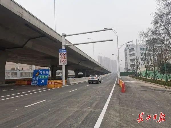好消息,杨司港高架路的三个匝道已经全部开通。 第2张
